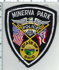 Minerva Park Police (Ohio) 2nd Issue Uniform Take-Off Shoulder Patch