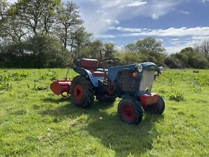 Gutbrod Compact Tractor And Rotavator