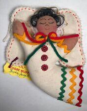 Lil Regae Muffin Flying Angel Doll Hand Made Jamaica Trading Post Muslin 2002
