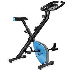 Bicicleta estatica plegable con freno Magnetico regulable y Pulsometro –fitfiu