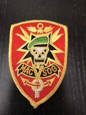 """NEW military patch, """"MAC V SOG"""" unique insignia, original Vietnam War Era"""