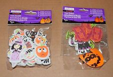 Halloween Foam Stickers Creatology 3+Pumpkins Witches Trick or Treat 89Total 28W