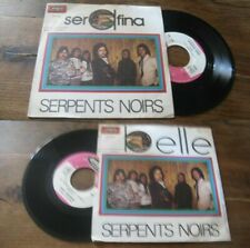 SERPENTS NOIRS - Serafina French PS 7 Pop Rock Vogue 72