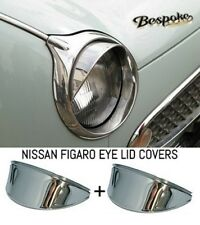 NISSAN FIGARO STAINLESS STEEL EYELIDS-BRAND NEW-NO RUSTING QUALITY ITEM