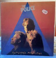 THE POLICE -Zenyatta Mondatta Orig 1980 Lp A&M /HOLLAND PRESSING/FREE Shipping