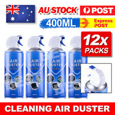 12x 400ml Compressed Air Duster Cleaner Can For PC Notebook Laptop Keyboard