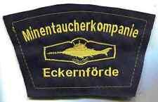 Bundesmarine:Verbandsabzeichen:Minentaucherkompanie Eckernförde. 11 x 18 cm