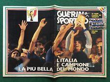 GUERIN SPORTIVO n.28/1982 ITALIA CAMPIONE DEL MONDO FILM DEL MUNDIAL COLORI
