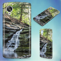 LANDSCAPE NATURE FOREST TREES HARD BACK CASE COVER FOR NEXUS PHONES