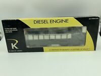 New K-line By Lionel 2216 Southern Pacific MP-15 Dual Motor Diesel Engine w/Horn