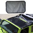 Full Mesh Sun Shade Sunshade Top Cover UV Protection For Jeep Wrangler JK 2 door