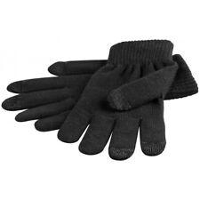 Touchscreen-Handschuhe schwarz für Apple iPhone iPad Smartphones Tablets Größe M