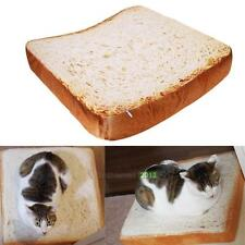 Toast Bread Shape Pet Bed Cushion Sponge Mat Pad for Dog Cat Kennel Cozy Soft