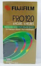 New listing Fujifilm Pro T-120 Premium High Grade 6 Hour Blank Vhs Tape (New-Sealed)