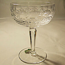 """COLLEEN TALL by Waterford Saucer Champagne 5.25"""" tall NEW NEVER USED Ireland"""