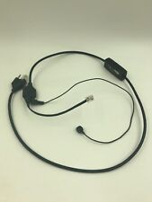 Plantronics EHS APV-62 38734-01 Electronic Hook Switch Cable for Avaya Phones
