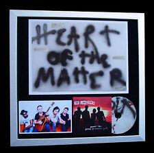 LIBERTINES Heart Of Matter FRAMED OFFICIAL ART PRINT+FAST GLOBAL SHIP+NOT SIGNED