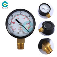 "0~-30inHg 0~-1bar Air Vacuum Pressure Gauge Meter Digital Mini 2 ""Dial Manometer"