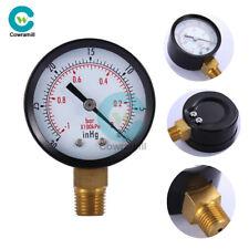 """0~-30inHg 0~-1bar Air Vacuum Pressure Gauge Meter Digital Mini 2 """"Dial Manometer"""