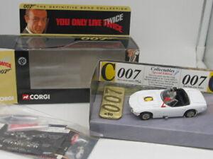 **RARE** CORGI JAMES BOND 007 TOYOTA 2000GT YOU ONLY LIVE TWICE-COLLECTABLES #50
