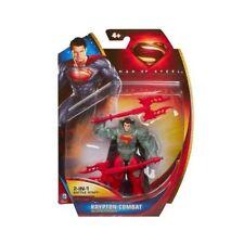 "4 x MARVEL HEROES DC COMICS SUPERHEROES SUPERMAN GENERAL ZOD 4"" FIGURES - BNIP"