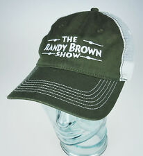 The Randy Brown Show Mesh Trucker Hat Cap Texas Music