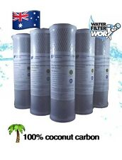 """1 MICRON 100% COCONUT CARBON WATER FILTERS 