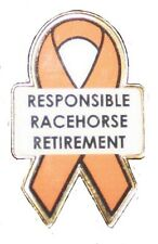 Responsible Racehorse Retirement Cause Lapel Pins
