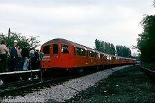 London Underground Tube Tour Mill Hill East 04/06/78 Rail Photo
