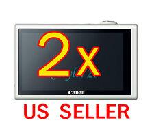2x Canon PowerShot ELPH 530HS Camera LCD Screen Protector Cover Guard Shield