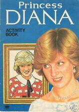 PRINCESS DIANA COLOURING & ACTIVITY BOOK