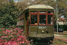 New Orleans Streetcar, Louisiana, St. Charles Avenue, # 900, Trolley -- Postcard