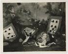 Alice White in Wonderland Vintage 1930s Whimsical Elmer Fryer Fantasy Photograph