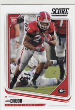 2018 Score Nick Chubb RC Cleveland Browns #365