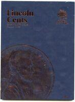 Coin Folder - Lincoln Cents 1975-2013 Penny Set - Whitman Album 9033