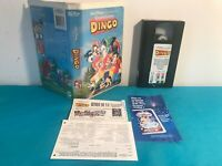 A goofy movie / Completement Dingo  VHS tape & clamshell case FRENCH