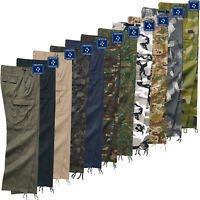 Brandit US Ranger Trousers - Fight Trousers Bw US Army Military Streetwear New