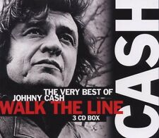 "JOHNNY CASH ""THE VERY BEST OF"" 3 CD BOX NEW!"