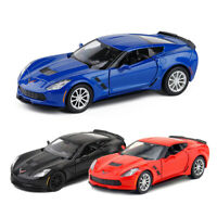 Chevrolet Corvette Grand Sport C7 1:36 Scale Model Car Diecast Gift Toy Vehicle