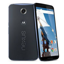 Motorola Google Nexus 6 XT1100 32GB 4G Midnight Blue Mint Mobile Smartphone