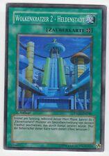 YU-GI-OH Wolkenkratzer 2 Heldenstadt Super Rare STON-DE048