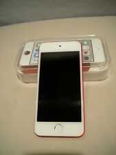 Apple iPod iTouch 6th Generation Red (128 GB) *Screen Is Bent But Device Works*