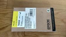 GENUINE EPSON T6024 YELLOW INK STYLUS PRO 7800/9800 7880/9880 SEALED 110ml OEM