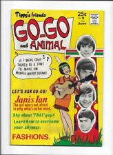 TIPPY'S FRIENDS GO-GO & ANIMAL #9 [1968 FN-] MONKEES COVER!