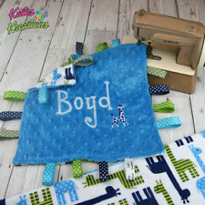 Handmade Minky Boys' Nursery Blankets & Throws