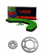 2013-2016 Kawasaki Ninja 300 EX300 Chain and Sprocket Kit Heavy Duty Green