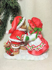 Cherished Teddies Santa Series 2016 DeWaine and Sharon  NIB #4053455