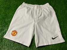 MANCHESTER UNITED ENGLAND 2013-2014 FOOTBALL SHORTS HOME NIKE ORIGINAL SIZE M