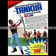 Mattel BIG JIM, CHIEF TANKUA 1976 - Pub Publicité Vintage Action Figure Ad #A200