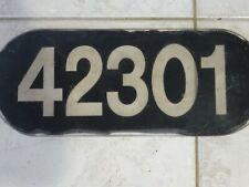 QUEENSLAND RAILWAY LOCOMOTIVE NUMBER 42301